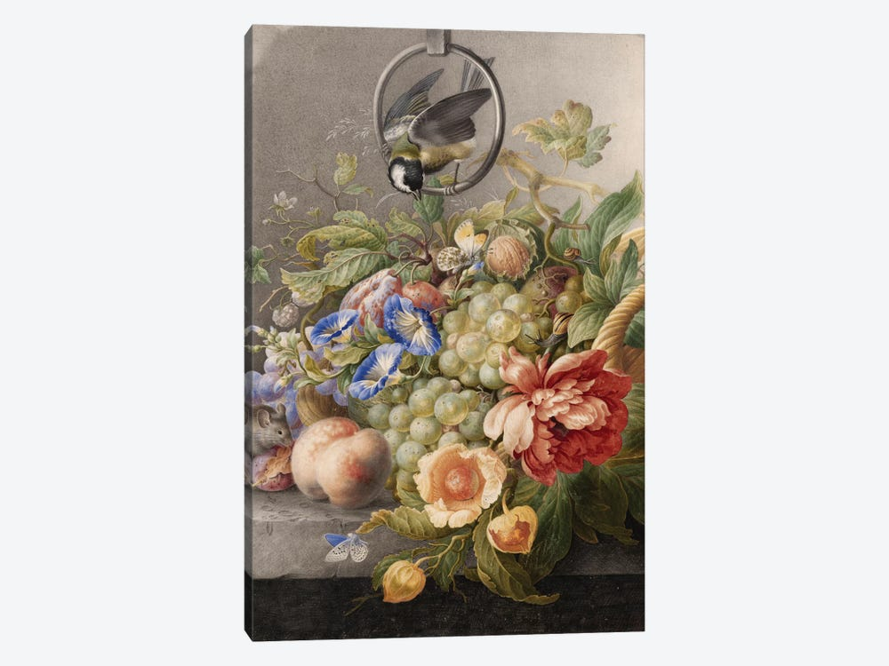 Flowers IX by Vintage Apple Collection 1-piece Canvas Wall Art