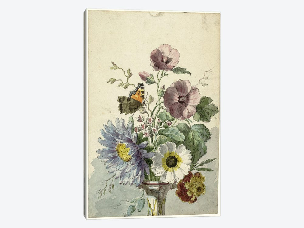 Flowers VIII by Vintage Apple Collection 1-piece Canvas Print