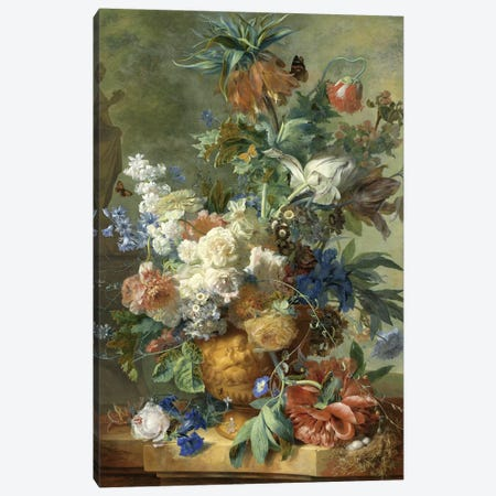 Flowers XI Canvas Print #VAC1603} by Vintage Apple Collection Canvas Art Print