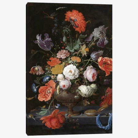 Flowers XIII Canvas Print #VAC1605} by Vintage Apple Collection Canvas Art