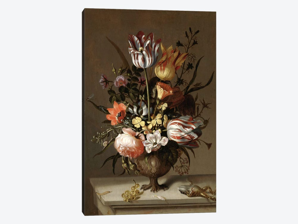 Flowers XIV by Vintage Apple Collection 1-piece Canvas Art