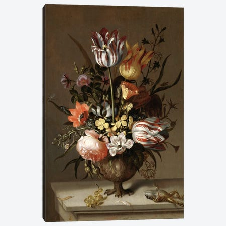 Flowers XIV Canvas Print #VAC1606} by Vintage Apple Collection Canvas Artwork