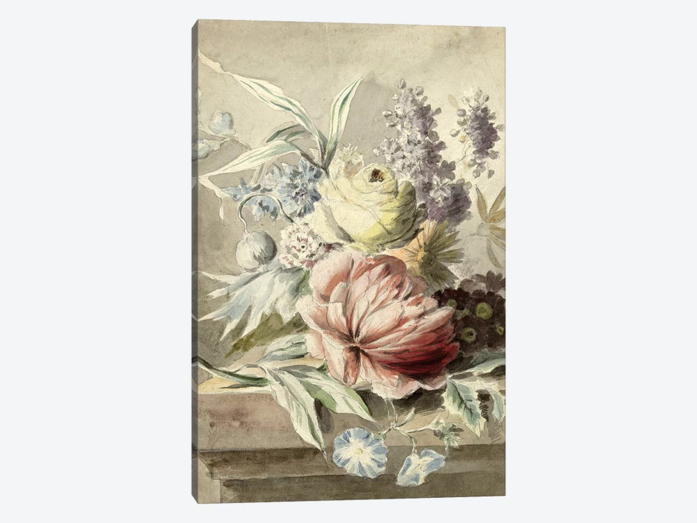 Flowers XIX by Vintage Apple Collection 1-piece Art Print