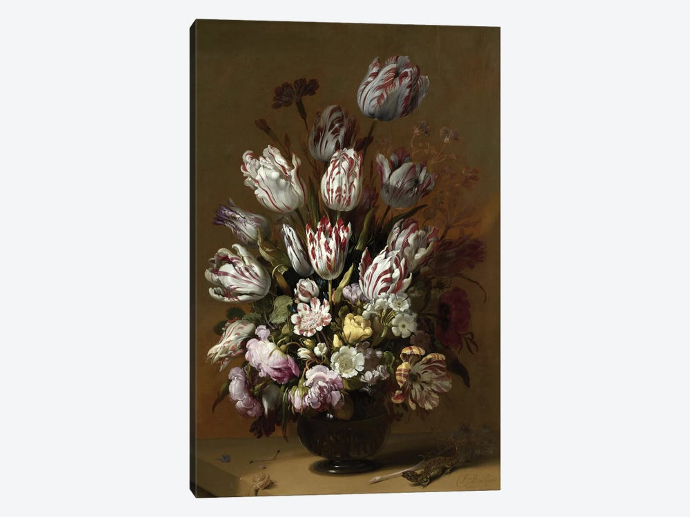 Flowers XV by Vintage Apple Collection 1-piece Canvas Artwork