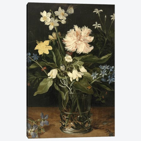 Flowers XVI Canvas Print #VAC1609} by Vintage Apple Collection Canvas Print