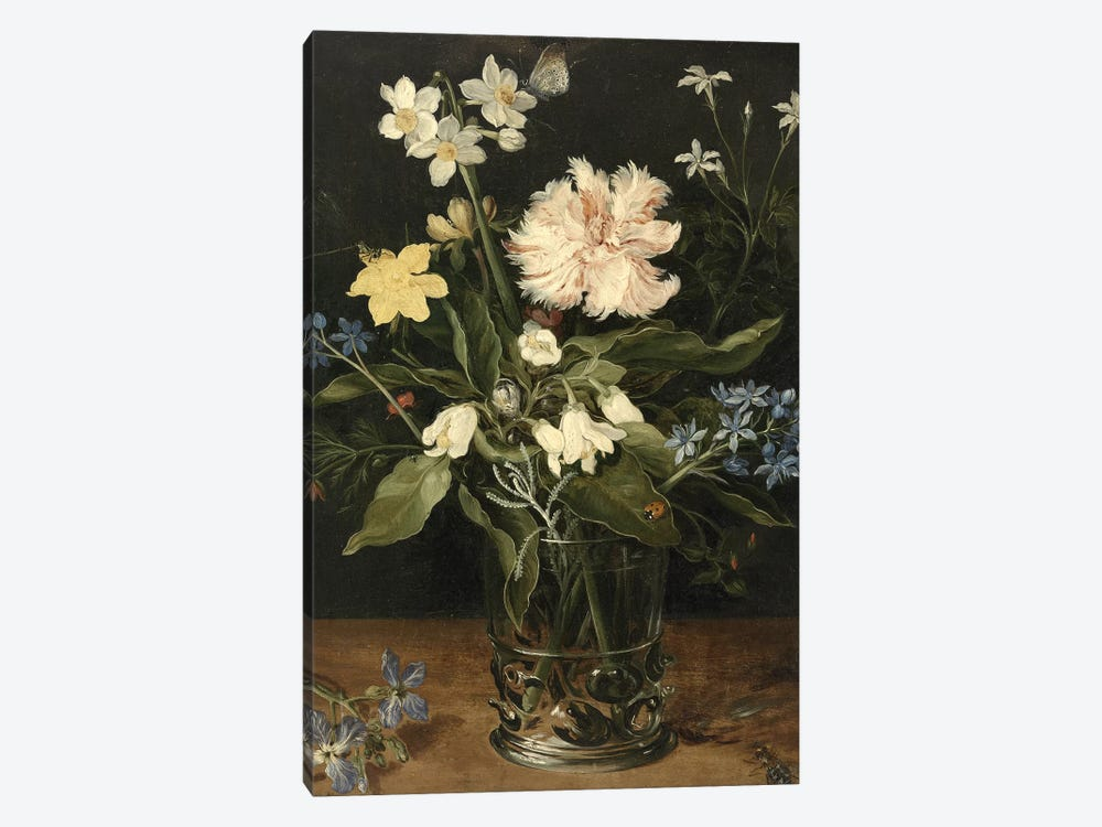 Flowers XVI by Vintage Apple Collection 1-piece Canvas Art Print