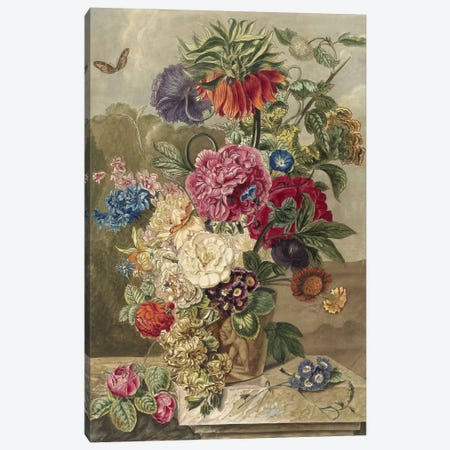 Flowers XVII Canvas Print #VAC1610} by Vintage Apple Collection Canvas Artwork