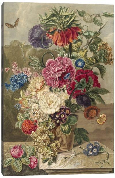 Flowers XVII Canvas Art Print