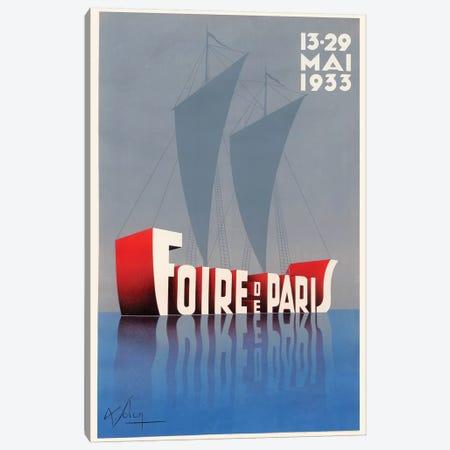 Foire de Paris, 1933 Canvas Print #VAC1614} by Vintage Apple Collection Art Print