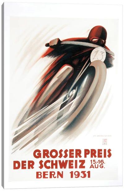 Grosser Preis Der Schweiz, Bern 1931 Canvas Art Print
