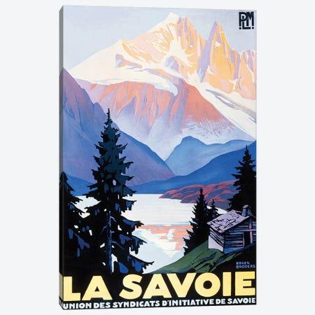 La Savoie Canvas Print #VAC1751} by Vintage Apple Collection Canvas Print