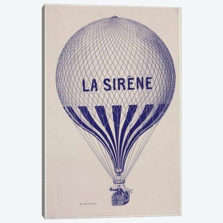 La Sirène Canvas Print #VAC1752} by Vintage Apple Collection Art Print