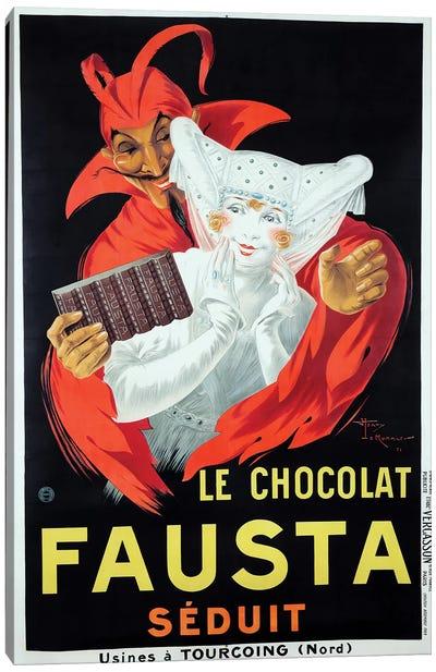 Le Chocolat Fausta Canvas Art Print