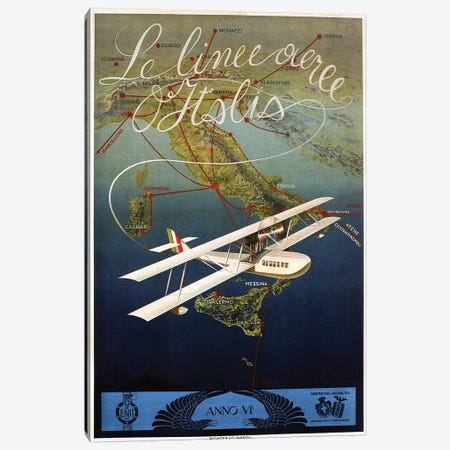 Lelinee Italy Canvas Print #VAC1766} by Vintage Apple Collection Canvas Art Print
