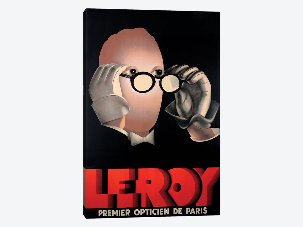 Leroy Optical by Vintage Apple Collection 1-piece Canvas Art Print