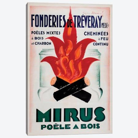 Mirus Chimney Service Canvas Print #VAC1842} by Vintage Apple Collection Canvas Art Print