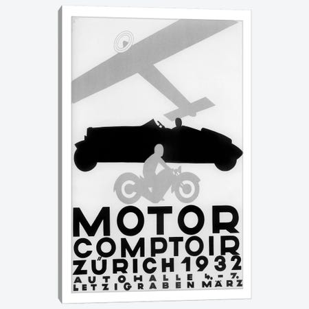 Motor Comptoir, Zürich, 1932 Canvas Print #VAC1849} by Vintage Apple Collection Canvas Print