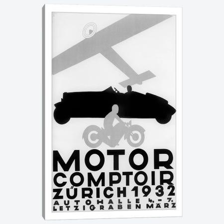 Motor Comptoir, Zürich, 1932 Canvas Print #VAC1849} by Vintage Apple Collection Canvas Print