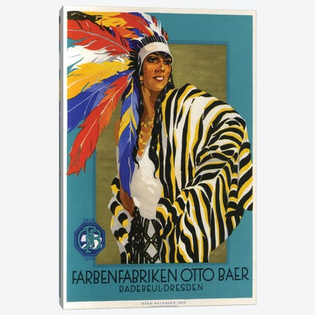 Native American Clothes, 1929 Canvas Print #VAC1854} by Vintage Apple Collection Canvas Art Print