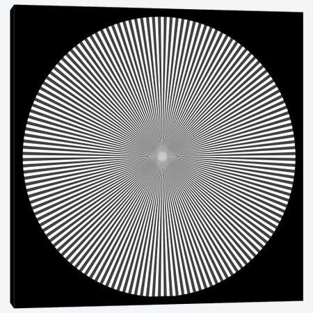Optical Illusion Art Canvas Print #VAC1868} by Vintage Apple Collection Canvas Art Print
