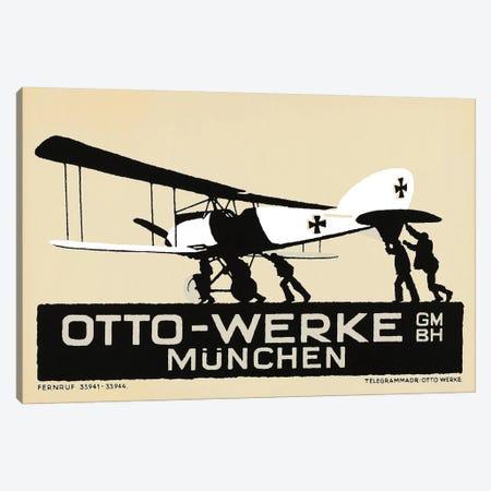 Otto-Werke Munich, WWI Era Canvas Print #VAC1872} by Vintage Apple Collection Canvas Artwork