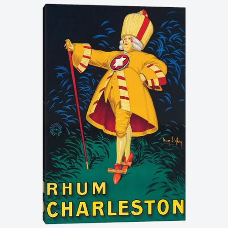 Rhum Charleston Canvas Print #VAC1952} by Vintage Apple Collection Canvas Art Print