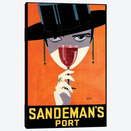 Sandeman's Port Canvas Print #VAC1969} by Vintage Apple Collection Canvas Wall Art