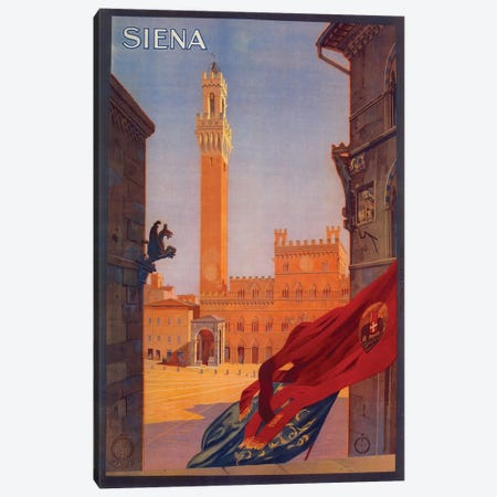 Siena Canvas Print #VAC1995} by Vintage Apple Collection Canvas Artwork