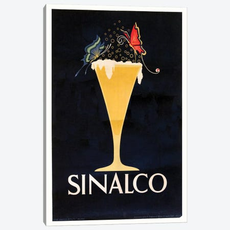 Sinalco German Lemonade Canvas Print #VAC1996} by Vintage Apple Collection Canvas Art
