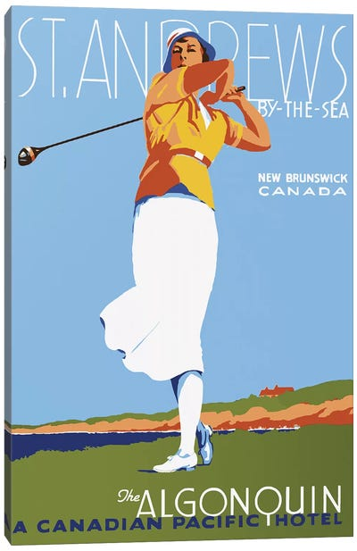 St. Andrews Canvas Art Print