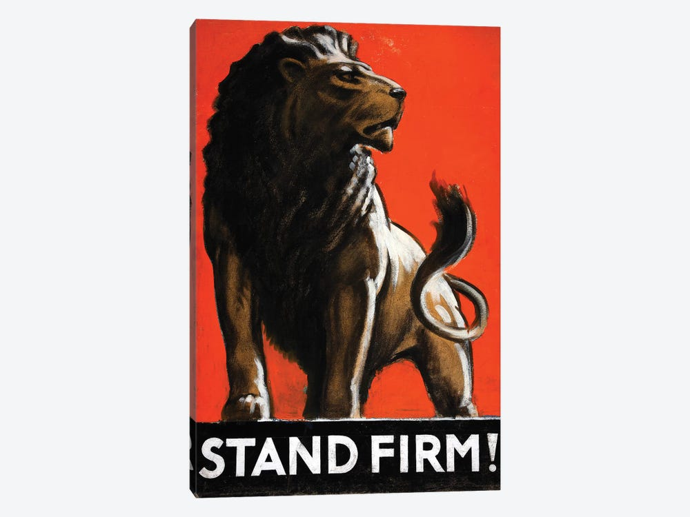Stand Firm! by Vintage Apple Collection 1-piece Canvas Wall Art