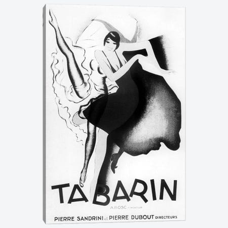 Tabarin Art Deco Canvas Print #VAC2043} by Vintage Apple Collection Canvas Art Print
