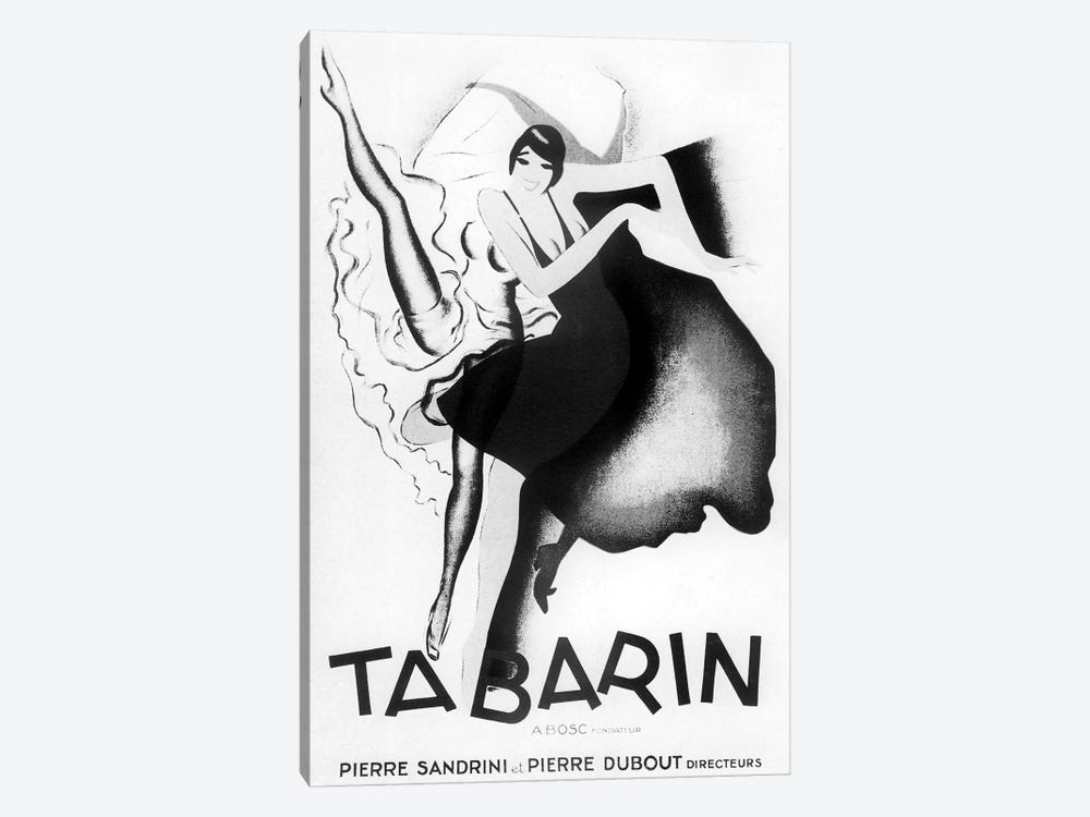 Tabarin Art Deco by Vintage Apple Collection 1-piece Canvas Art Print