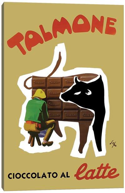 Talmone Milk Chocolate Canvas Art Print