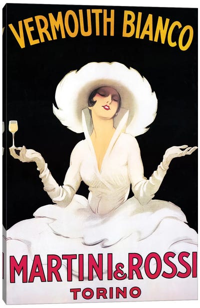Vermouth Bianco Canvas Art Print