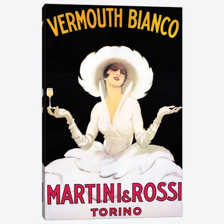 Vermouth Bianco Canvas Print #VAC2102} by Vintage Apple Collection Canvas Artwork
