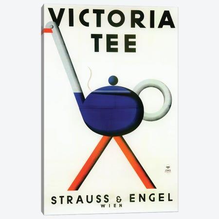 Victoria Tea Canvas Print #VAC2106} by Vintage Apple Collection Canvas Print