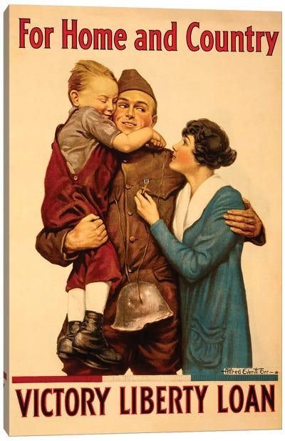 Victory Liberty Loan, WWI Canvas Art Print