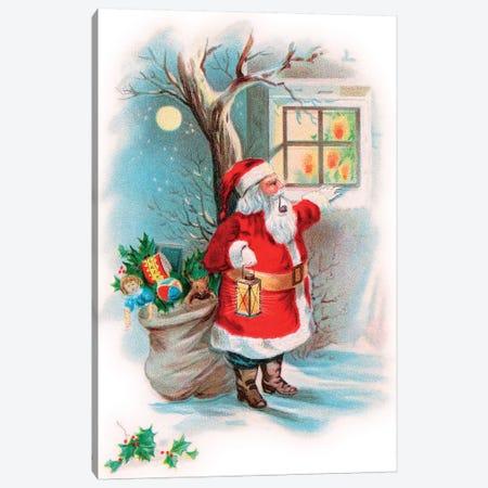Vintage Christmas II Canvas Print #VAC2113} by Vintage Apple Collection Canvas Art Print