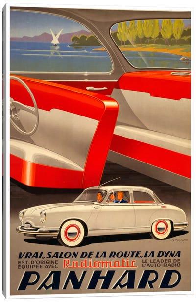 Panhard Auto Canvas Print #VAC236