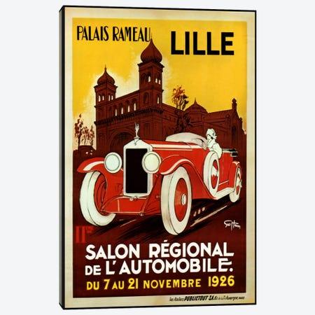 Lille Salon 1926 Canvas Print #VAC237} by Vintage Apple Collection Canvas Print