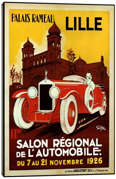 Lille Salon 1926 Canvas Print #VAC237