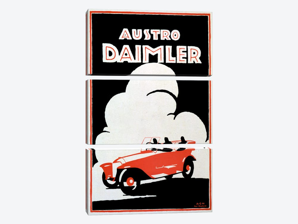 Daimler by Vintage Apple Collection 3-piece Art Print