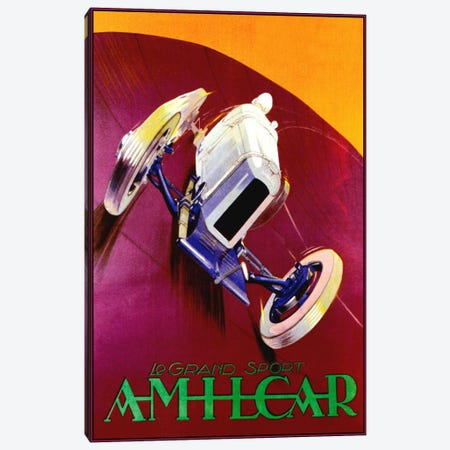 Amilcar Canvas Print #VAC240} by Vintage Apple Collection Canvas Art Print