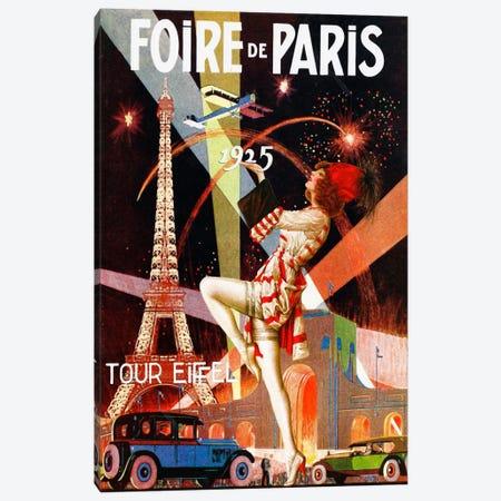 Foire de Paris Canvas Print #VAC242} by Vintage Apple Collection Canvas Art Print