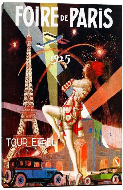 Foire de Paris Canvas Art Print
