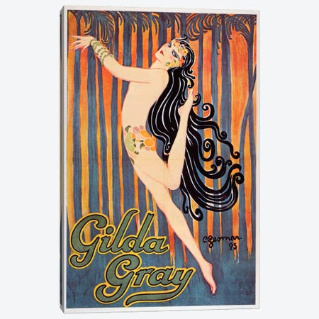 Gilda Good Canvas Print #VAC249} by Vintage Apple Collection Canvas Print