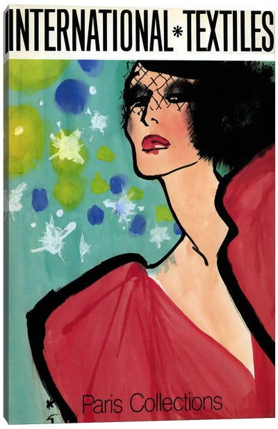 Paris Fashion Canvas Print #VAC254