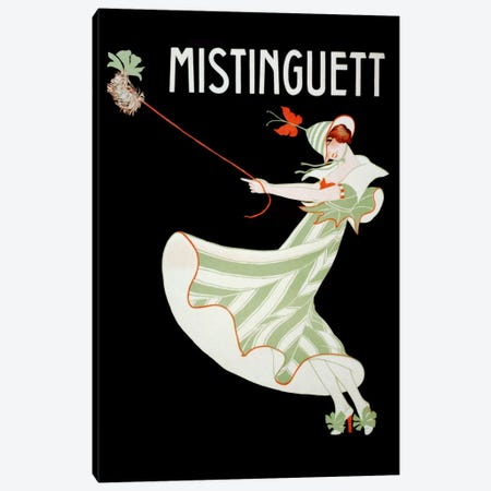 Mistinguett I Canvas Print #VAC255} by Vintage Apple Collection Canvas Print
