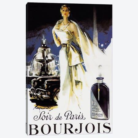 Soir de Paris Canvas Print #VAC264} by Vintage Apple Collection Canvas Artwork